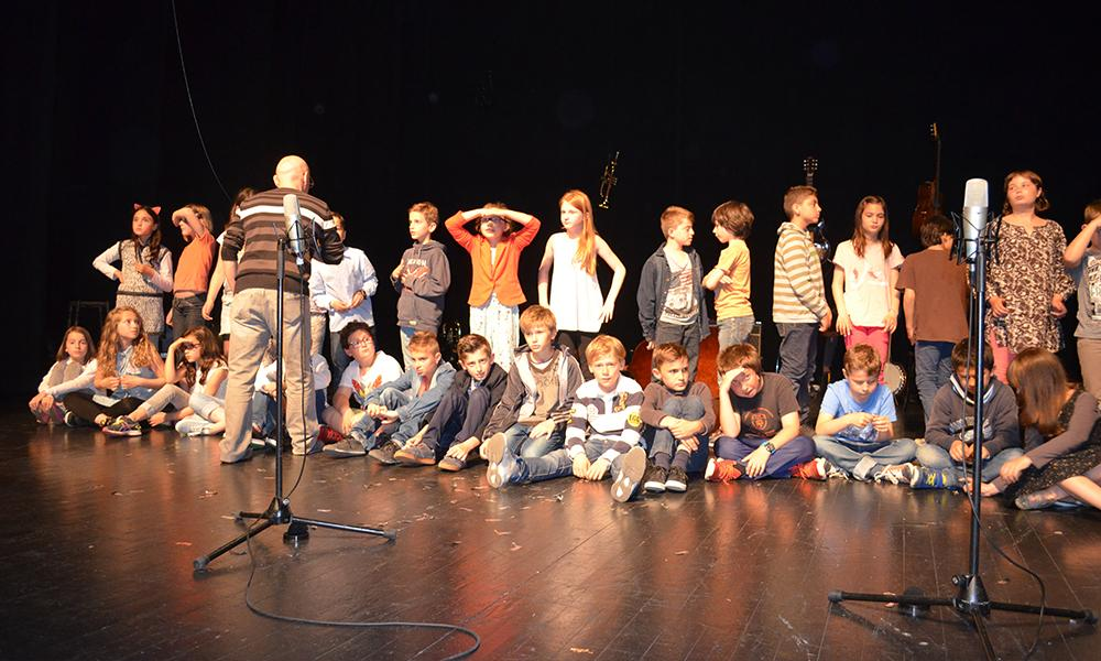 Composition et chant avec la Cie Sing-Song et les écoles