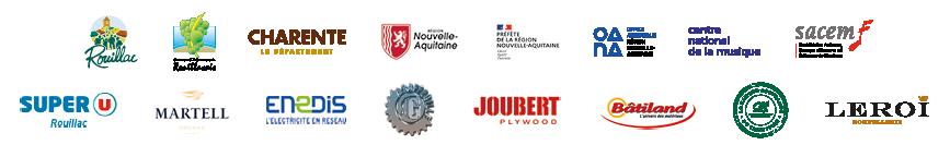 Logos partenaires La Palène