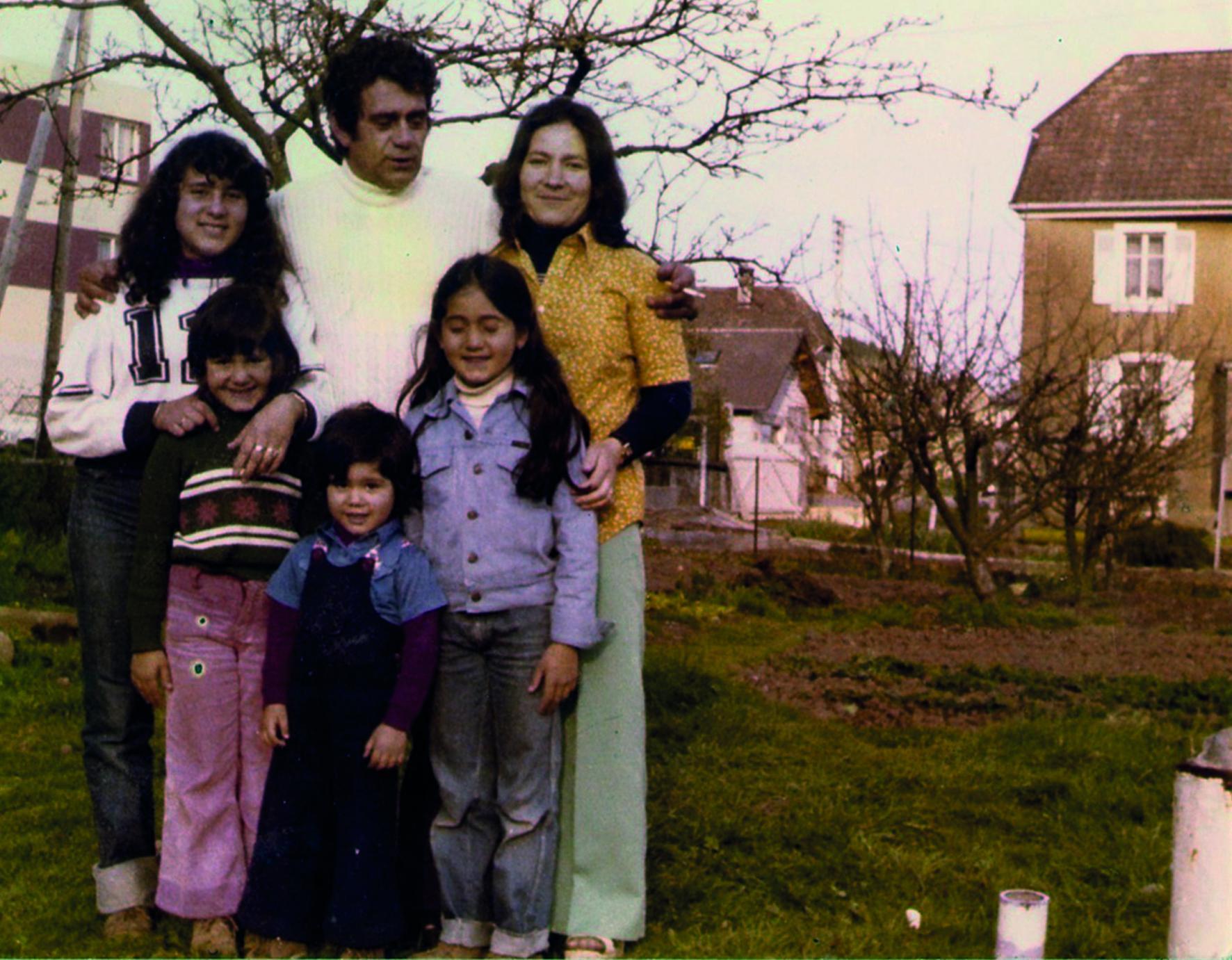 Photo famille couleur