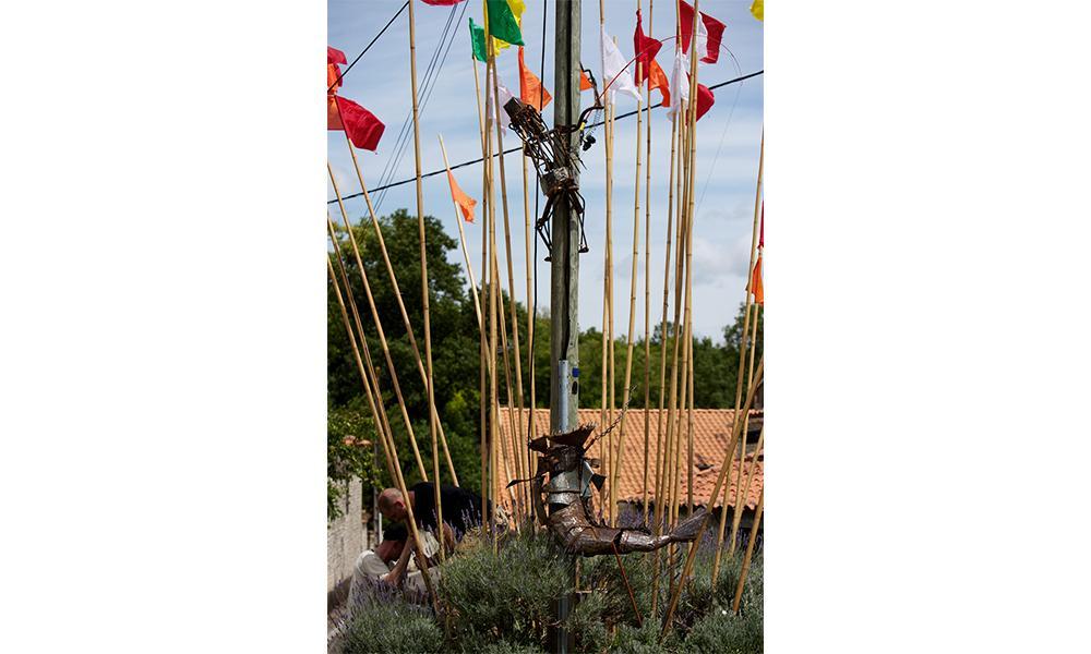 Sculpture Le pêcheur